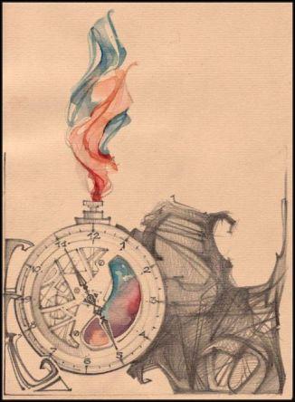 flowing time by yaroslava