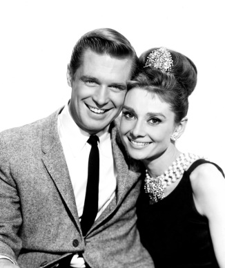 Hepburn, Audrey (Breakfast at Tiffany's) with g. peppard