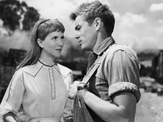 julie harris and james dean east of eden-1954