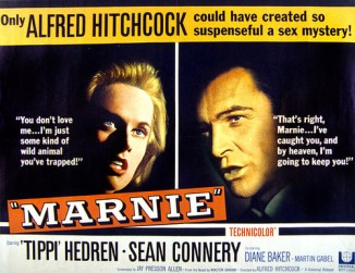 marnie-tippi-hedren-sean-connery-1964 poster