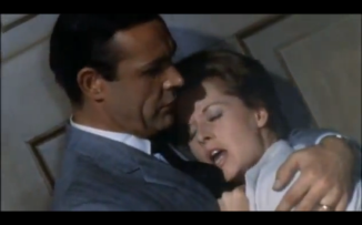Marnie_Tippi_Hedren_&_Sean_Connery holding her during lightning storm