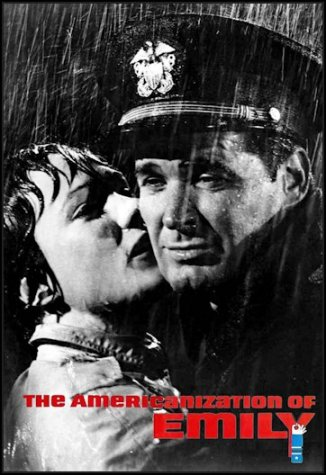 pic emily and charlie in rain poster with title and a blue arm unzipping y