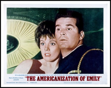 the-americanization-of-emily-julie-andrews-james-garner-1964 poster
