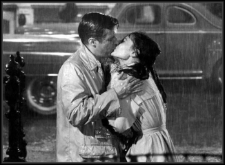 breakfast at tiffany kiss in the rain