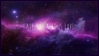 cosmic all you need is love