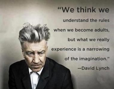 david lynch narrowing of imagination