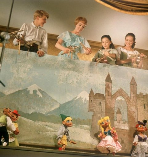 the sound of music doing the lonely goatherd show