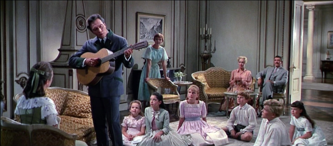 the sound of music edelweiss captain singing for all maria & captain show signs of falling