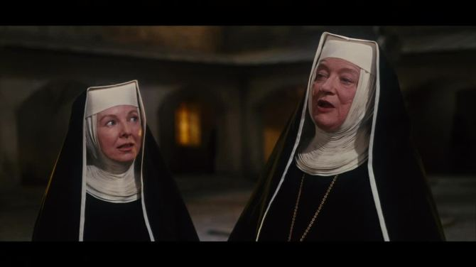 the sound of music rev mother & sister nun played by anna lee