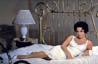 Cat on a Hot Tin Roof (1958) elizabeth in gold bed