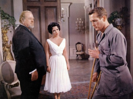 cat-on-a-hot-tin-roof-burl-ives-elizabeth-taylor-paul-newman-1958 big daddy