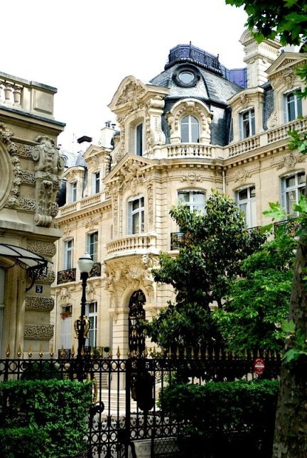 paris beautiful building architecture