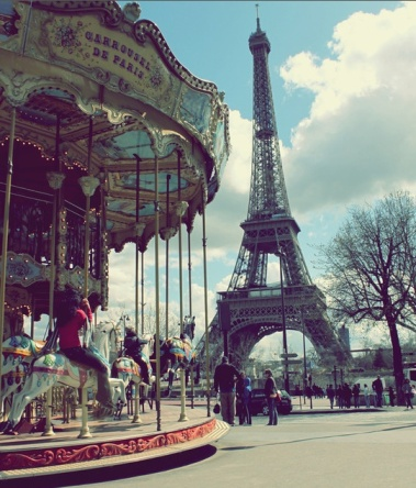 Paris Carousel & Eiffel Tower