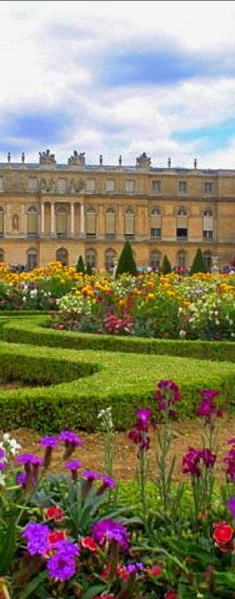 paris foreground garden Palace of Versailles