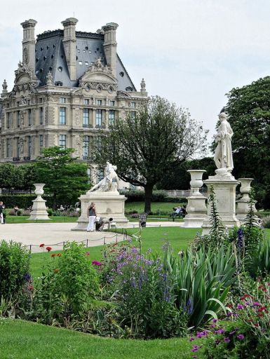 paris  Louvre et Tuileries