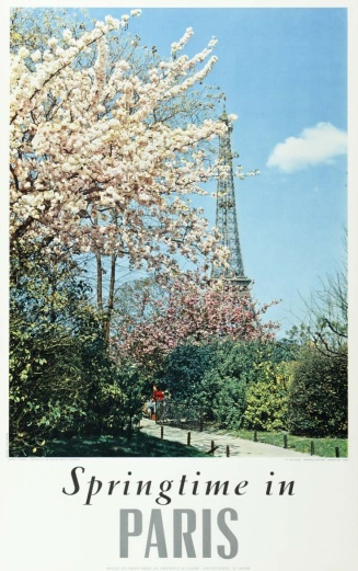 paris springtime eiffel tower CUT OFF WORDS BOTTOM