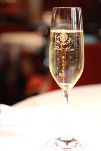 ritz champagne glass paris