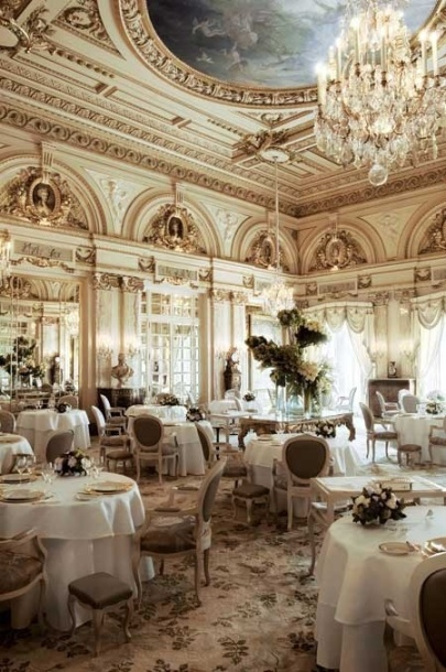ritz L'Espadon the restaurant at the Hotel Ritz Paris