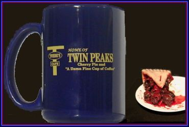 tps mug damn fine cup of coffee & cherry pie