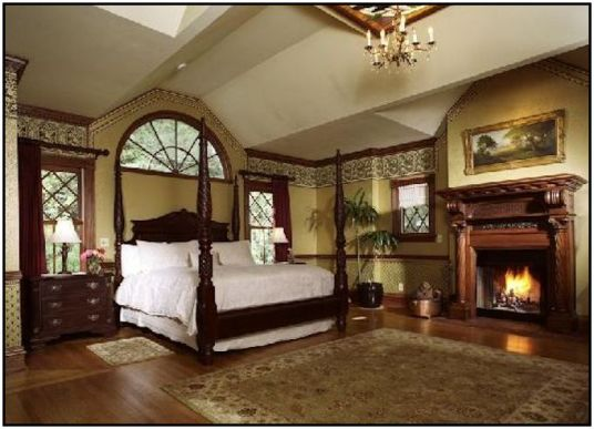 Madison and Scottie's bedroom