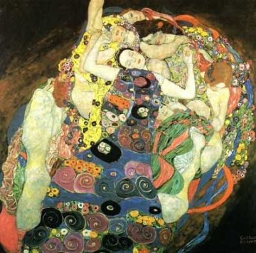 150th Birthday of Gustav  Klimt - The Virgin (Maiden)