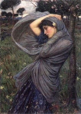 Boreas - Artist John William Waterhouse
