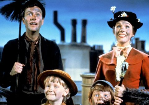 Original Photo of the Walt Disney film Mary Poppins