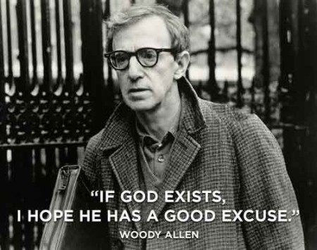 woody allen of god exists