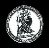 saint-christopher-medal blk bg