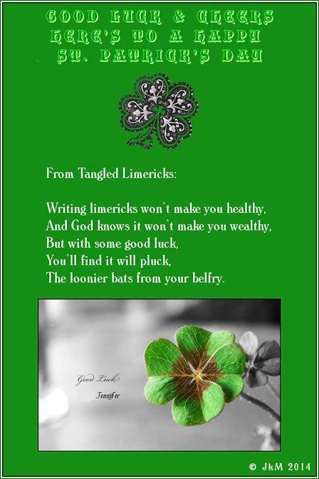2 good luck & cheers irish st patrick's day