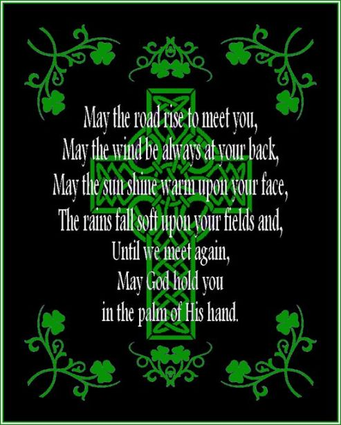 7 Irish Blessing may the road rise up to meet you