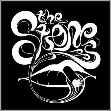 stones lips joint black on wht neg