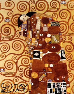 The embrace  klimt  sm