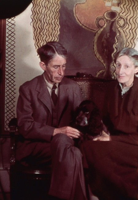 virginia & leonard woolf 1939 National Photo Gallery London 'the dinner party' virginia woolf