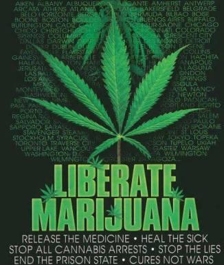 liberate marijuana