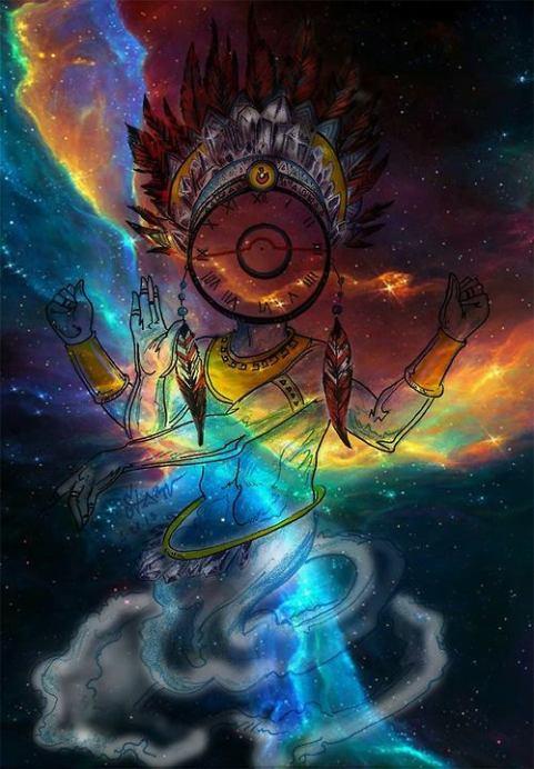 surreal spirit painting