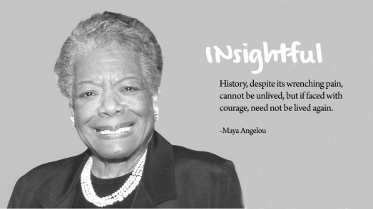 maya angelou insightful