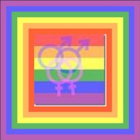 same sex logos in framed in rainbow colors  without black frame 2
