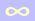 infinity symbol small