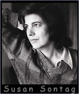 susan sontag photo for series