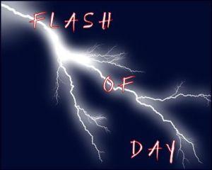 1 lightning flash of day