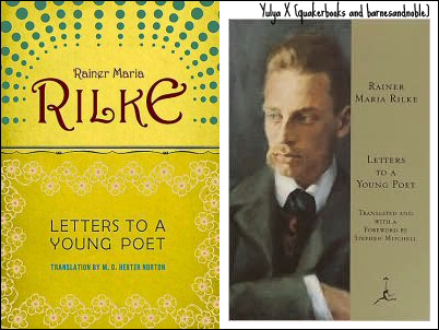 rainer maria rilke letters to a young poet COVER