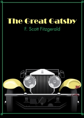 The Great Gatsby cover by Ann Ueno