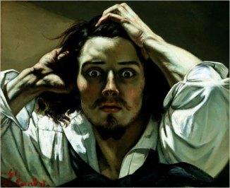 The Desperate Man - Self-portrait. Gustave Courbet