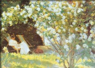 Kroyer, Severin - Les Roses