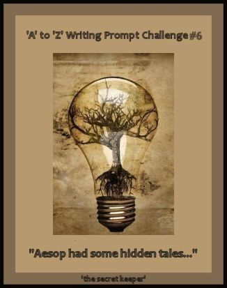 'a' to 'z' writing prompt poster #6