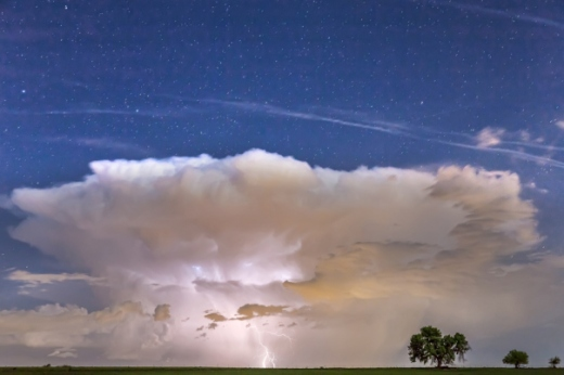 Springtime Thunderstorm On the Colorado Plains
