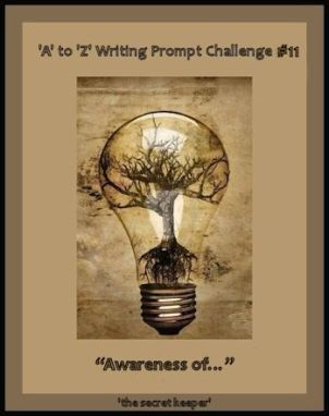 'a' to 'z' writing prompt poster #11