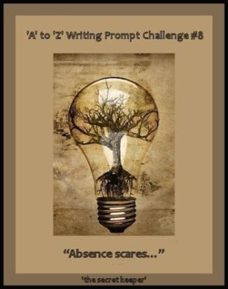 'a' to 'z' writing prompt poster #8