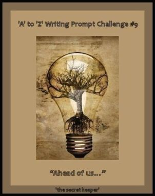 'a' to 'z' writing prompt poster #9